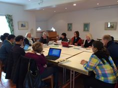 Saturday morning, 9 am: The jury members arrived and already started their work!