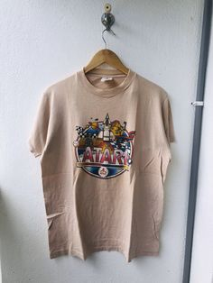 ATARI Retro Games Console Arcade Gaming Tshirt Tee Vintage 80/'s 90/'s Kids Adults
