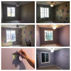 Kids Bedroom Paint Idea with Wall Decals