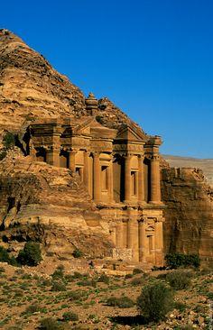 Le Deir, Pétra, Jordanie (Al Deir, Petra, Jordan)