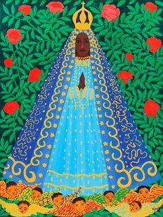 Senhora Sant'Ana de Pé Djanira Acervo do Museu de Arte Moderna do Vaticano