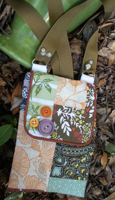 tote bag cross body small patchwork purse with by sissylovesgrits, $12.00