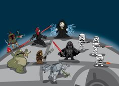 darth vader - darth maul - death star - morte nera