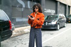 The Best Street Style from New York Fashion Week Fernanda Oliveira