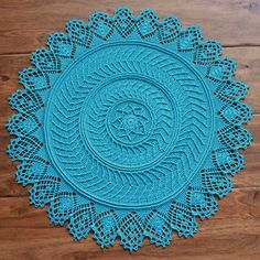 """Designing a crochet pattern inspired by the """"Tree Rings"""" knit blanket design.    44 rounds! This is my largest design!    84g / 590 yards    Will be published around January 20th.    ..."""