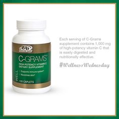 Contribute to your journey toward optimal health with C-grams®- an excellent source of vitamin C!*