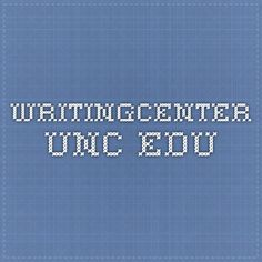 writingcenter.unc.edu CVs versus Resumes