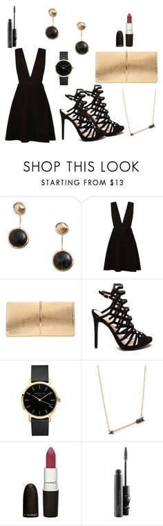 #25 Women Party Chic by ndreamcatcher on Polyvore featuring mode, New Look, Nina Ricci, Sydney Evan, MANGO, M.A.C and MAC Cosmetics