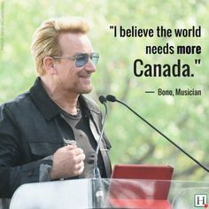 Canada Day Quotes: 13 Sayings That Make You Proud To Be Canadian Visit Canada, O Canada, Wise Quotes, Quotes To Live By, Canada Day Images, U2 Lyrics, I Am Canadian, Canadian Sayings, Canadian Pacific Railway