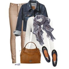 """""""Simplicity in the Fall"""" by michelled2711 on Polyvore"""