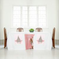 Tablecloth play house | kids decor
