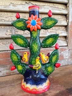 Cactus Candle Holder – Salsa Sisters