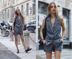 Sonya Esman - Zara Loafers, Chic Wish Suit, Céline Tote Bag - Suit yourself.
