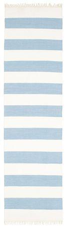 Cotton stripe - Light Sininen-matto 80x300