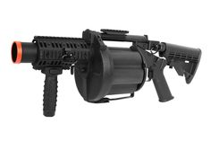 ICS-190 GLM Grenade Launcher, Multiple airsoft gun.  You don't want to be in front of this when it goes off!