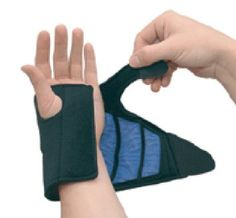 Amazon.com: Acu Life 360 Hot & Cold Therapy Wrist Brace, Adjustable, 1 ea: Health & Personal Care