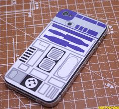 R2D2 iPhone Skin.  For those iPhones with attitude.    $6.00 at Etsy