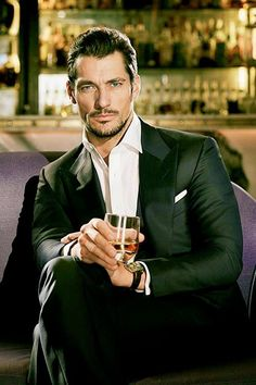 David Gandy - could you imagine coming home to that! Lol