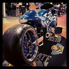 Bud Light, redesigned. Only at the International Motorcycle Show. #throwback