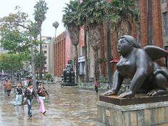 Botero's Park in Medellin