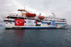 The first Freedom Flotilla was headed by the Turkish Mavi Marmara ship which was attacked by Israeli forces who killed ten activists [file photo]