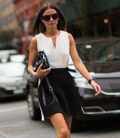 Street style NYFW SS15