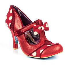 NEW-IRREGULAR-CHOICE-DOTTY-LOTTY-RED-SHOE-HEELS-UK-3-5-4-5-6-6-5-8-8-5