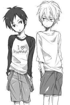 Izaya and Shizuo  // Durarara!!