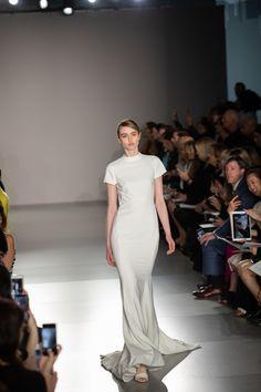Amsale - Photography by Collin Pierson Sheath Wedding Gown, Sexy Wedding Dresses, Wedding Gowns, Bridal Fashion Week, Plus Size Wedding, Beautiful Gowns, Bridal Style, Trendy Fashion, Ball Gowns