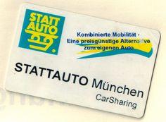 Das ist auch schon etwas her... Die Botschaft ist aber immer noch dieselbe :-) #ThrowbackThursday #tbt #Stattauto #München #CarSharing
