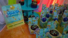 Plaquinha de guloseimas Bubble Guppies