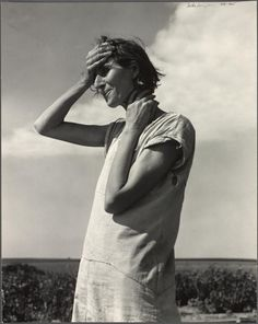 """Woman of the High Plains. """"If you die, you're dead. That's all."""" Texas Panhandle, 1938"""
