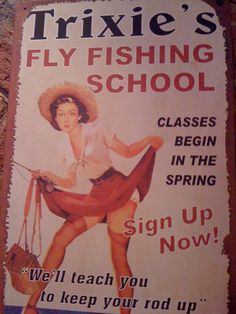 Always wanted to take fly fishing lessons! Sign me up!!