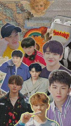 Boys Wallpaper, Cartoon Wallpaper, Wallpaper Lockscreen, Aesthetic Iphone Wallpaper, Aesthetic Wallpapers, Seoul, Seventeen Woozi, Hip Hop, Seventeen Wallpapers