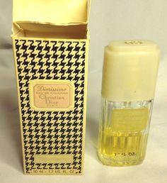 Vintage Christian Dior DIORISSIMO Eau De Cologne EDC Perfume Spray France 1.7 oz #ChristianDior