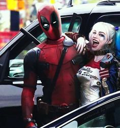 HarleyPool: The Loving Shipping Between Harley Quinn And Deadpool