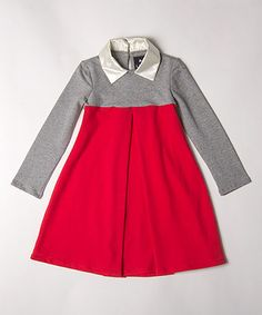 Look at this #zulilyfind! Georgia Trapeze Dress - Girls #zulilyfinds