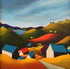 Beyond the Hill Farms ~ Anne Cady