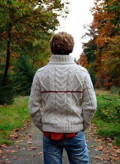 Fall love! Norwegian style sweater, handmade