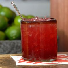 Pomegranate Tangerine Margarita Recipe From @Besito Mexican – Best Mexican Restaurants — #MexicanFood Recipes
