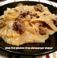 One-Pot Gluten-free Hamburger Helper Recipe - From Val's Kitchen