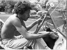Jimi Hendrix drove a Dune Buggy