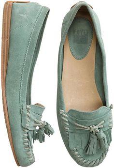 FRYE ALEX TASSEL MOC SHOE > Womens > Footwear > Shoes | Swell.com