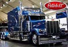 Custom Big Rigs, Custom Trucks, Big Rig Trucks, Semi Trucks, Peterbilt Trucks, Car Decal, Big Boys, Classic Cars, Garage