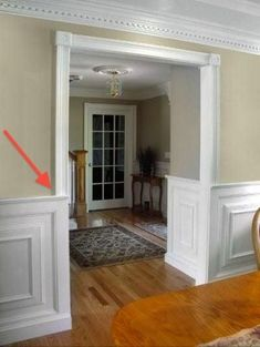 good site on chair rail height etc. I love the chair rail and paneling...very classic look.
