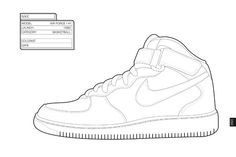 The Sneaker Coloring Book | paper dolls around the world | Pinterest ...