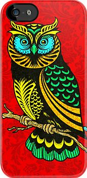 colorful owl drawing - Google Search