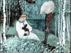The snowmaiden 1952 Snegurochka English & Spanish subtitles Russian opera animation Snow Maiden, White Witch, Snow Queen, Folklore, Fairy Tales, Nostalgia, Character Design, Russian Style, Animation