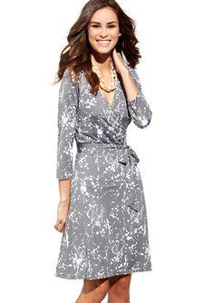 LEOTA Perfect Mini Wrap Dress