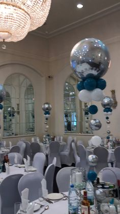 Christening balloon set up Organic balloon garland & centrepiece Christening Table Decorations, Blue Party Decorations, Baby Shower Decorations For Boys, Balloon Decorations, Birthday Decorations, Baby Shower Themes, Christening Balloons, Baby Girl Christening, Balloon Centerpieces